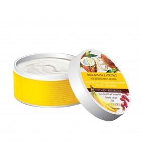 Odżywcze masło do ciała banan, daktyle i kokos 250 ml