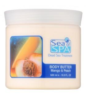 Masło do ciała mango & brzoskwinia 500 ml