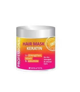 Profesjonalna maska do włosów z keratyną 500 ml