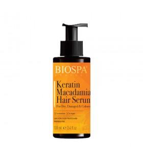 Serum do włosów z keratyną i olejkem macadamia Bio Spa